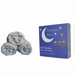 🌺Norwegian Moon 100% Bamboo Swaddling Blanket 💕